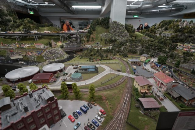 漢堡 Miniatur Wunderland 的全世界最大火車情境模型。