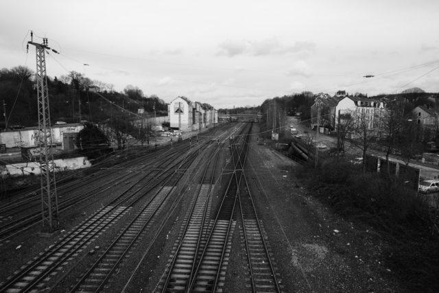 Wuppertal railroad.