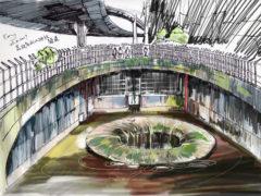 荔枝角雨水排放隧道 time-lapse