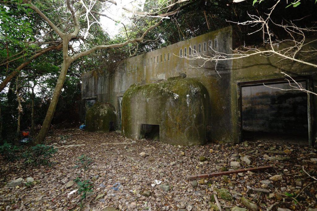 隱藏在叢林中的發電機房。